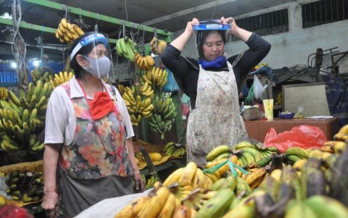 Indonesia: Tiểu thương ở chợ nằm trong nhóm dễ mắc COVID-19 nhất