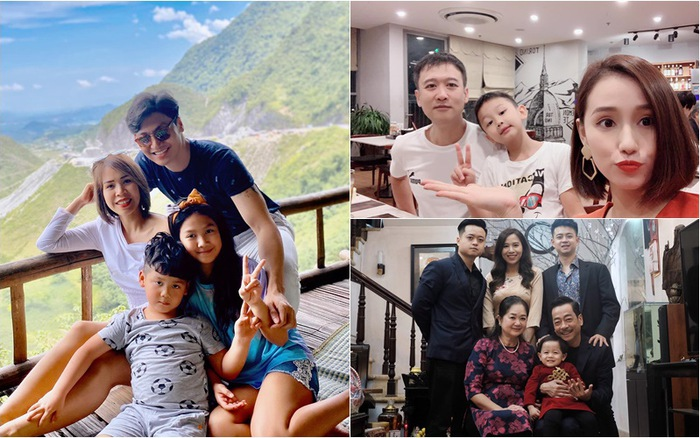 Nhân ngày Gia đình Việt Nam, ngắm khoảnh khắc hạnh phúc bên gia đình của các diễn viên