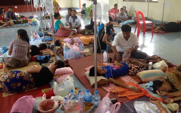 Lào thông báo 54 ca mắc mới sốt xuất huyết, 1 người tử vong
