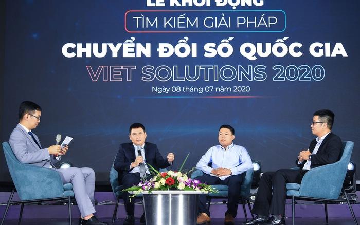 Khởi động cuộc thi Tìm kiếm giải pháp chuyển đổi số Việt Nam - Viet Solutions 2020
