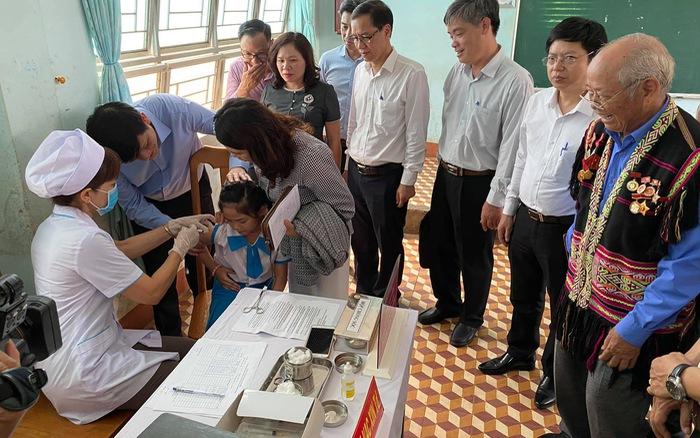 Phát động Chiến dịch tiêm vaccine phòng chống dịch bạch hầu tại 4 tỉnh Tây Nguyên
