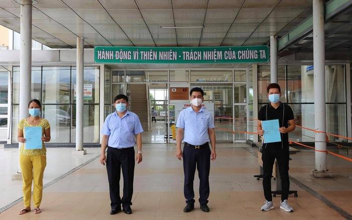 Thêm hai bệnh nhân ở Quảng Nam được công bố khỏi bệnh