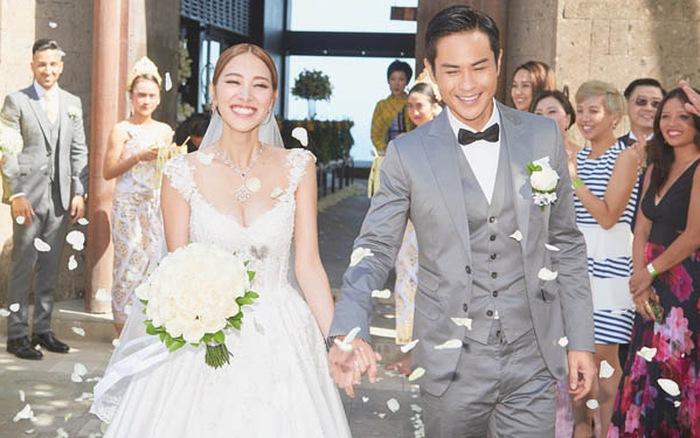 Hoa hậu Hong Kong 2013 hài lòng với cuộc hôn nhân cùng chồng lớn tuổi, giàu có và nổi tiếng