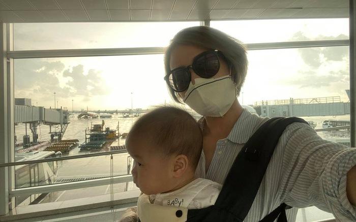 MC Phí Linh bất ngờ tiết lộ con gái bị bỏng vì bất cẩn ở phút 90 của mẹ