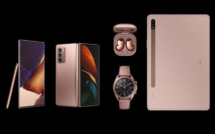 Galaxy Note 20 ra mắt cùng những sản phẩm nào tại Unpacked 2020?