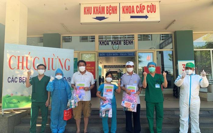 Thêm 3 bệnh nhân COVID-19 tại Đà Nẵng xuất viện