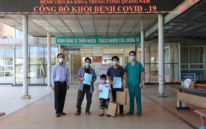 Thêm 3 bệnh nhân COVID-19 ở Quảng Nam khỏi bệnh