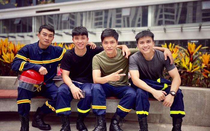 Lộ diện dàn lính cứu hỏa cực soái ca trong phim mới của VFC