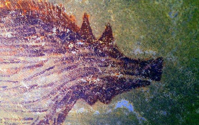 Phát hiện bức tranh hang động lâu đời nhất thế giới có niên đại trên 45.500  năm tuổi | VTV.VN