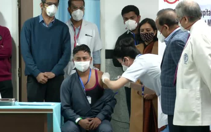 Thủ đô Ấn Độ tiến dần đến mục tiêu đạt miễn dịch cộng đồng - mega 655