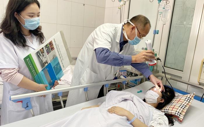 Nhờ bạn tiêm filler nâng mũi đón Tết, thiếu nữ 20 tuổi bị biến chứng mù mắt - mega 655