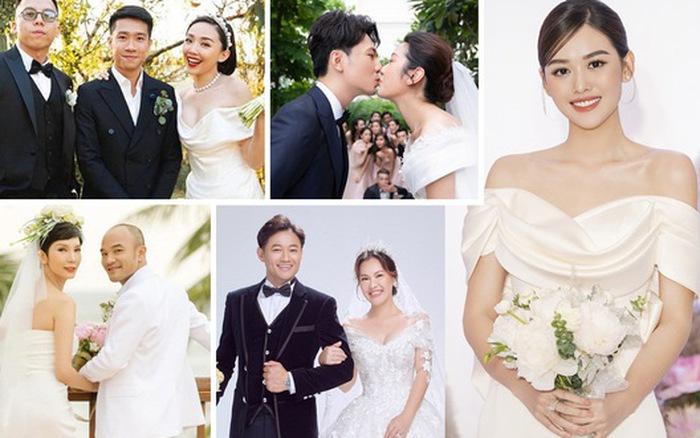 Nhiều sao Việt chọn đám cưới
