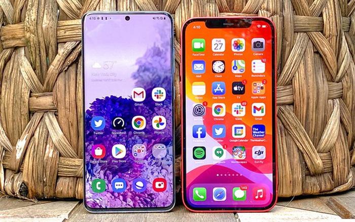 Apple vượt Samsung để giành
