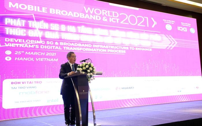 World Mobile Broadband & ICT 2021: Việt Nam sẽ đi cùng nhịp với thế giới trong triển khai thương mại hóa 5G