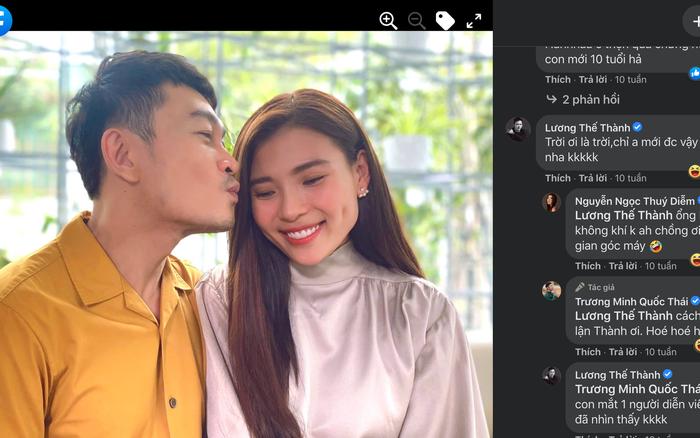 Phản ứng của chồng khi thấy Thúy Diễm đẹp đôi với Trương Minh Quốc Thái trên phim?