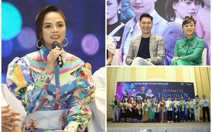 Thu Quỳnh, Phương Oanh đối đầu giành giật Mạnh Trường trong phim mới