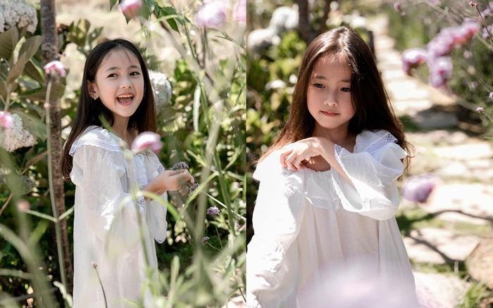 Con gái Hà Kiều Anh càng lớn càng xinh như thiên thần