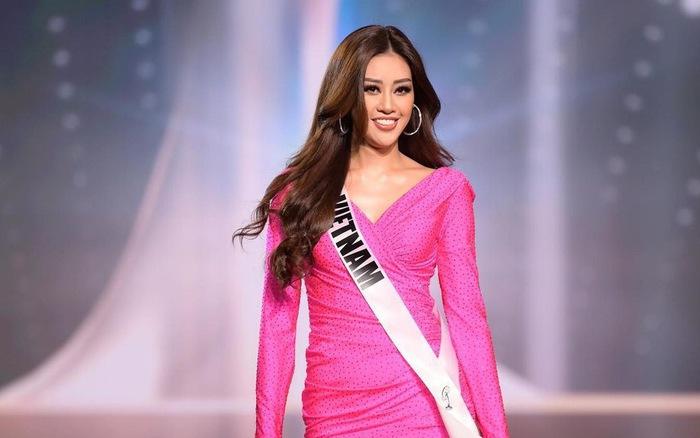 Khoảnh khắc Khánh Vân lọt top 21 Miss Universe 2020