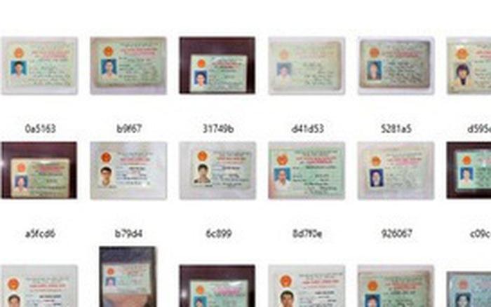 Vì sao hàng nghìn CMND của người Việt bị rao bán trên mạng?