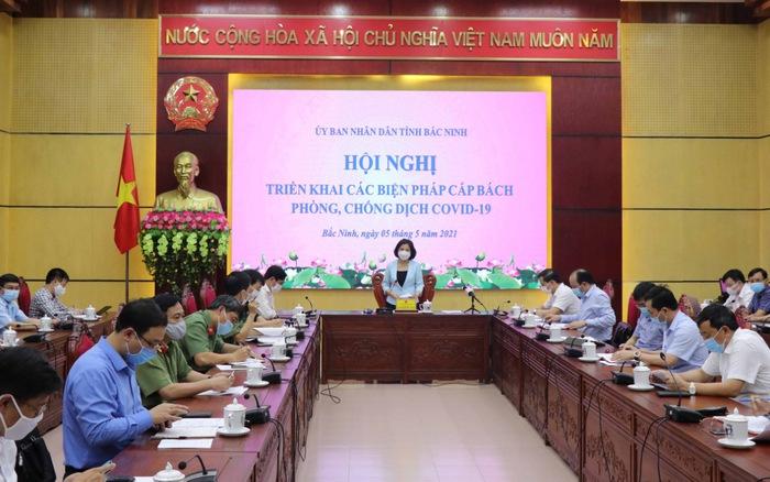 Bắc Ninh họp khẩn trong đêm sau khi có 2 ca mắc COVID-19 cộng đồng