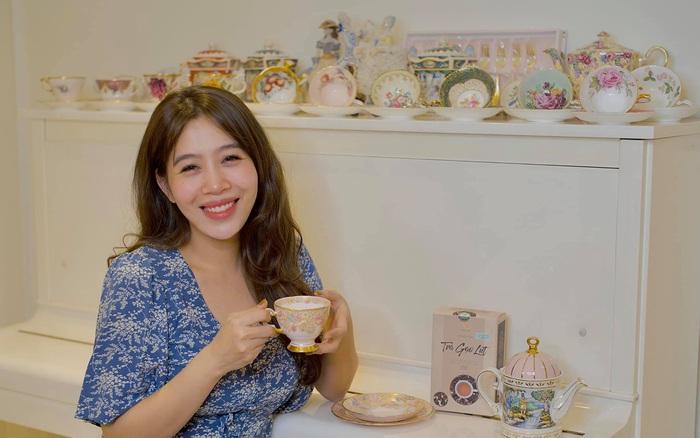Những bữa tiệc trà phong cách quý tộc nhìn là mê của BTV Diệp Chi