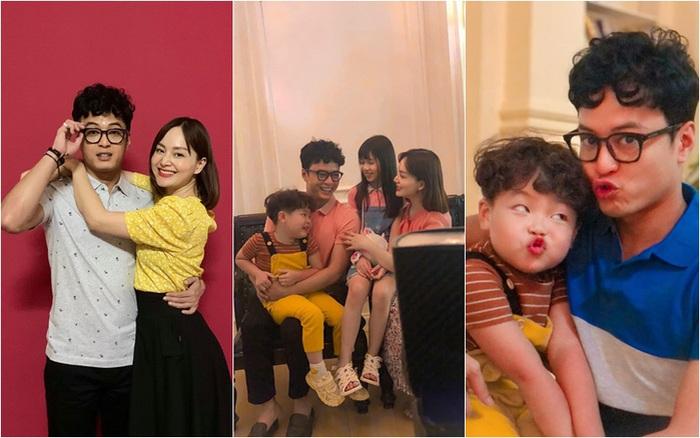 Hồng Đăng ôm Lan Phương trong phim mới, Việt Anh xúi