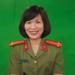 Trung tá Nguyễn Thị Lan Hồng Phó Trưởng phòng Quản lý Đào tạo, HV An ninh nhân dân