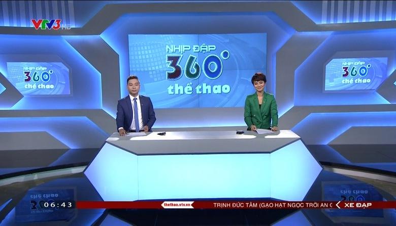 Nhịp đập 360 độ thể thao - 29/4/2017