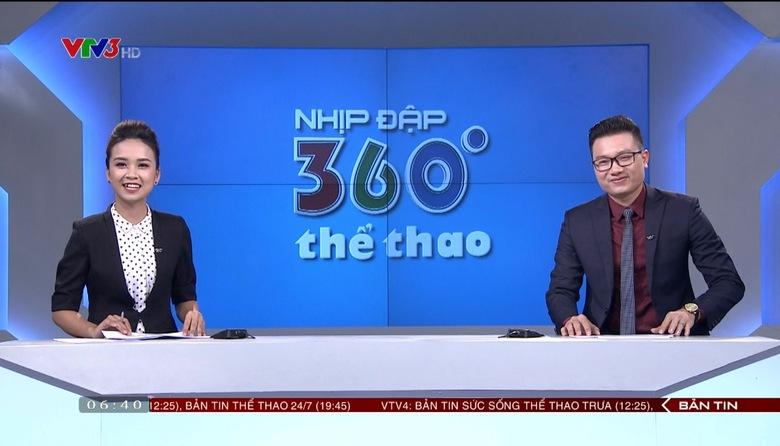Nhịp đập 360 độ thể thao - 20/9/2017