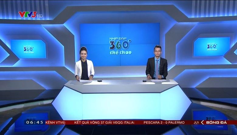 Nhịp đập 360 độ thể thao - 23/5/2017