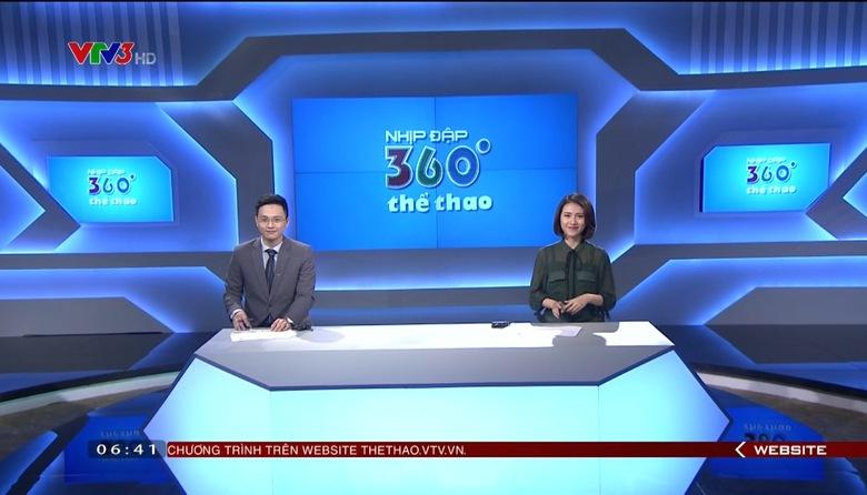 Nhịp đập 360 độ thể thao - 25/6/2017