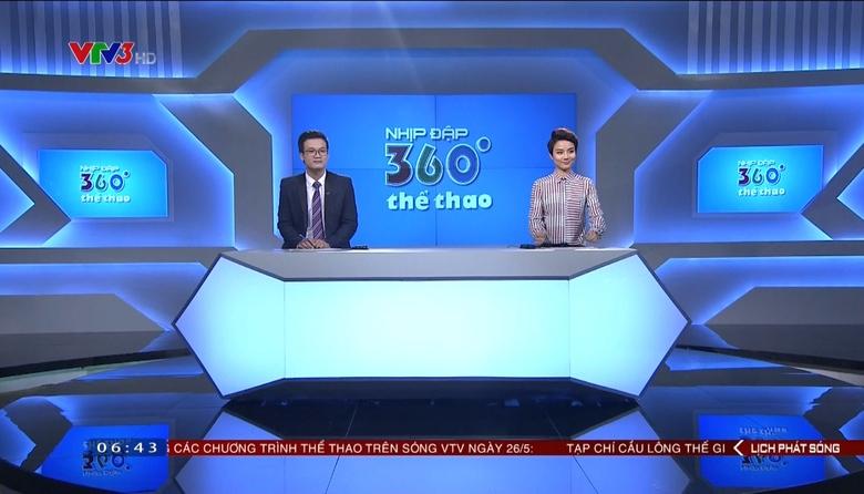 Nhịp đập 360 độ thể thao - 26/5/2017