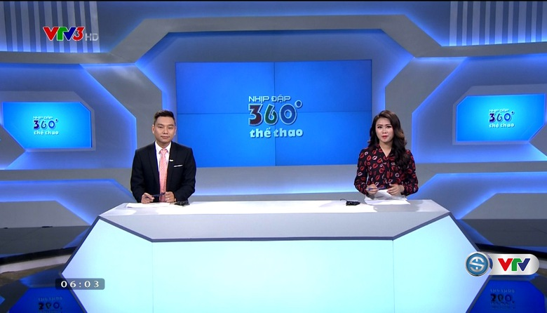 Nhịp đập 360 độ thể thao - 26/7/2017