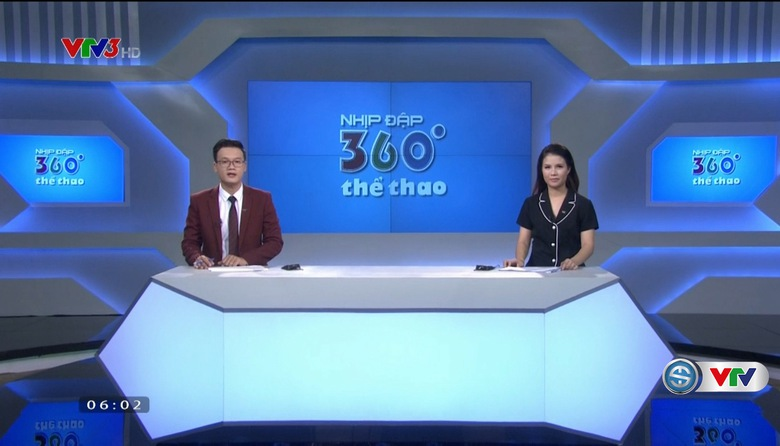 Nhịp đập 360 độ thể thao - 21/7/2017