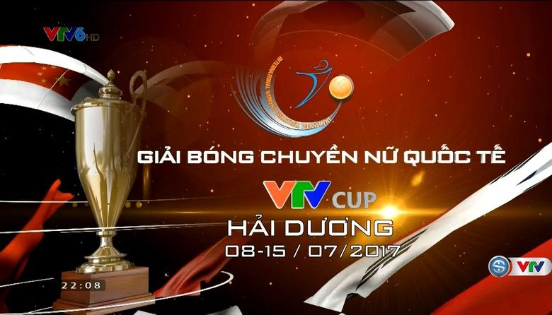 Giải bóng chuyền nữ Quốc tế VTV Cup 2017