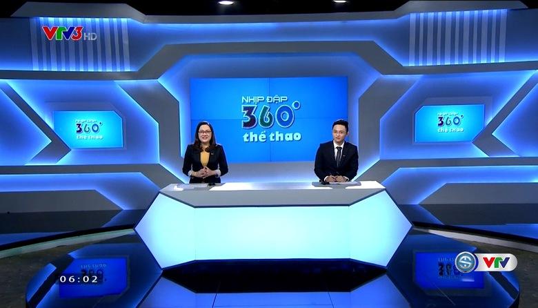 Nhịp đập 360 độ thể thao - 19/5/2017