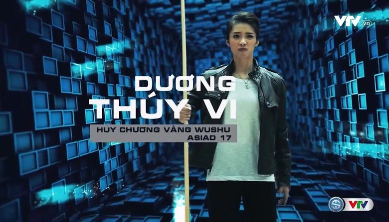 """Dương Thúy Vi """"đóng phim hành động"""" cùng Hoàng Xuân Vinh cực chất"""