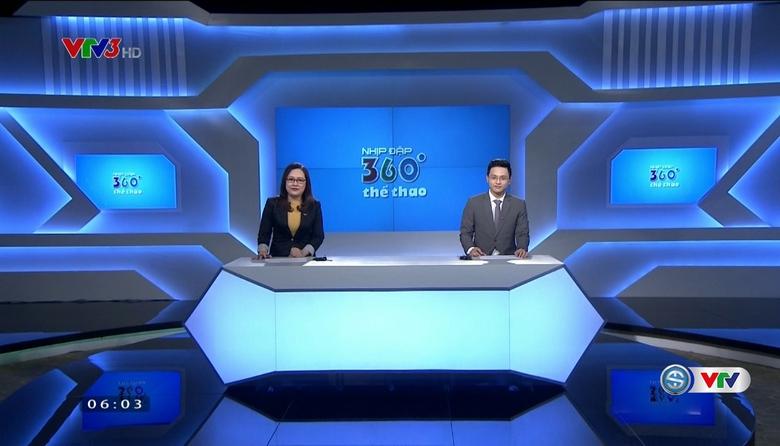 Nhịp đập 360 độ thể thao - 31/5/2017