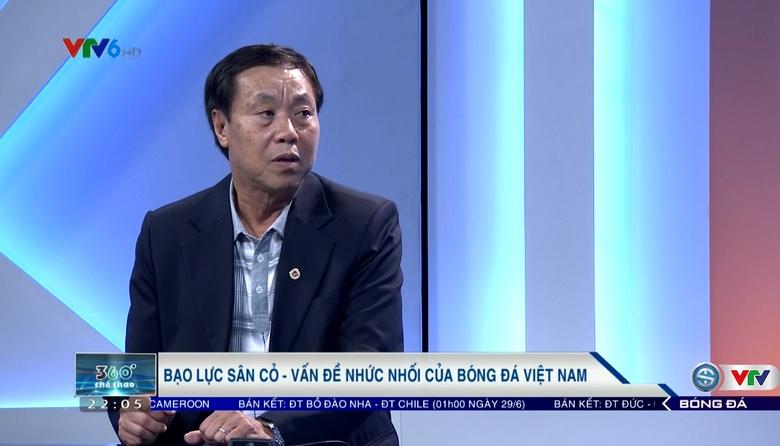 """Chuyên gia bóng đá Vũ Mạnh Hải: """"BĐVN cần án phạt mang tính chất giáo dục"""""""