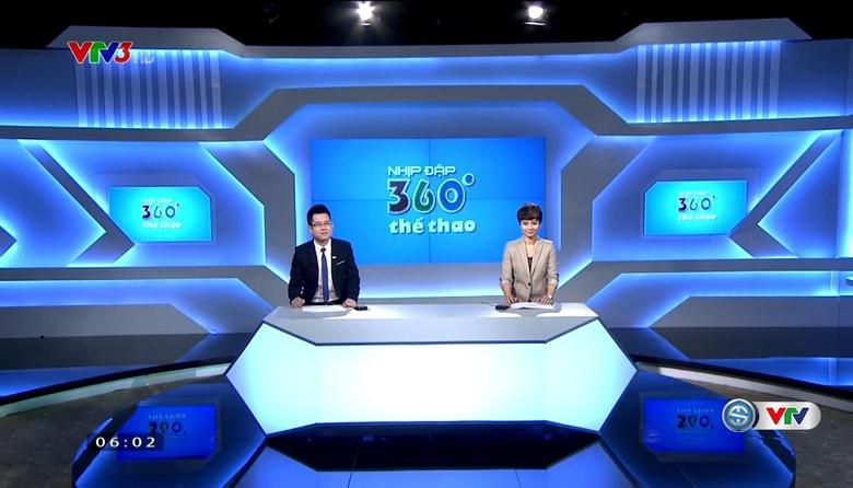 Nhịp đập 360 độ thể thao - 24/5/2017