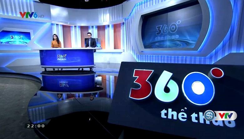 360 độ thể thao - 25/9/2017