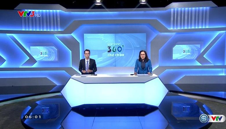 Nhịp đập 360 độ thể thao - 01/5/2017