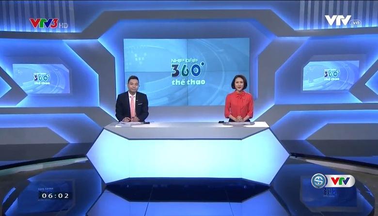 Nhịp đập 360 độ thể thao - 02/5/2017