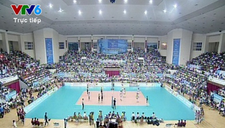 Giải bóng chuyền nữ quốc tế VTV Cup 2013 - Trận Bán kết: Việt Nam - Sandong - Phần 1