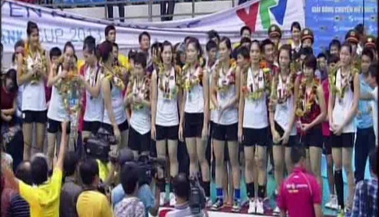 Trận chung kết và Lễ trao giải Giải bóng chuyền nữ quốc tế VTV Cup 2013 - Phần 2
