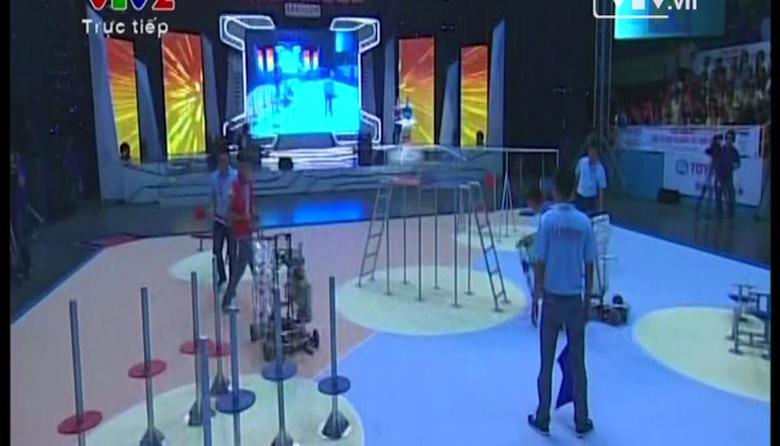 Chung kết Robocon 2014: Lễ khai mạc -  Truyền hình trực tiếp Bảng A, B - 06/05/2014
