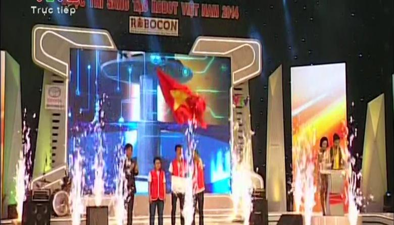 Chung kết Robocon 2014: Vòng 1/8 - Lễ trao giải