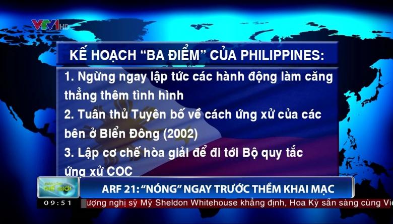 Trao đổi với ông Trần Việt Thái về vấn đề ASEAN