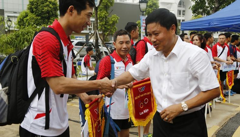 Hơn 200 VĐV tham gia Giải Thể thao VTV 2017 nhân kỷ niệm ngày Báo chí Cách mạng Việt Nam