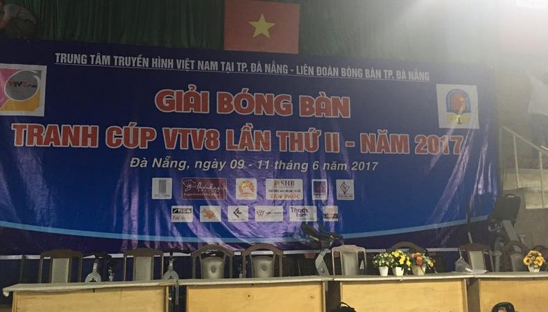 Gần 300 VĐV tham dự Giải bóng bàn tranh cúp VTV8 lần II – 2017